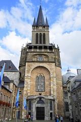 Aquisgrn - Domfassade (Xver) Tags: travel deutschland reisen europa europe cathedral dom catedral viajes aachen alemania fachada viajar aquisgran nikond40