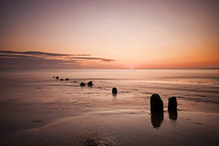 Sandsend Sunrise, North Yorkshire (@OutdoorsMH) Tags: uk longexposure morning sea england seascape 20d beach sunrise canon eos early seaside sand yorkshire sigma september whitby 1020mm 2008 northyorkshire eastcoast sandsend yorkshirecoast yorkpsweb