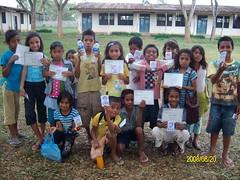 peace school結業式