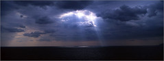 GR_PAN_16 (Vassilis Makris) Tags: sea film clouds flickr slide panoramic hasselblad greece velvia getty fujichrome xpan laconia gettyimages peloponissos gettyimagesandtheflickrcollection