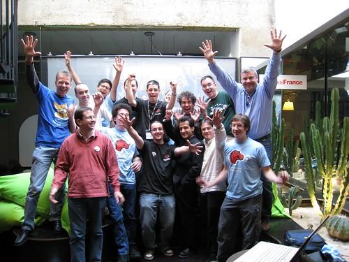 Les intervenants et organisateurs du MAOW '08 à Paris