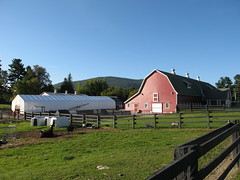 080920_002-Farm along \\\'bridge out\\\' road to Money Brook Trailhead (Steeles Corners, Massachusetts, United States) Photo