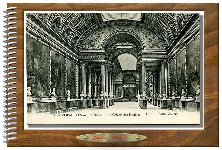 51 - VERSAILLES - La Galerie des Batailles