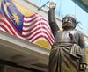 Hands Up, Thumbs Up! (crystoforo) Tags: holiday up statue handle hands malaysia sword kualalumpur thumbs kl handsup raised malaysianflag top50 topfavorite topphotos