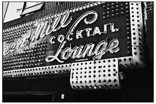 Cocktail Lounge BW