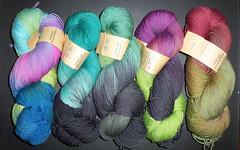 Handgefaerbt Yarn