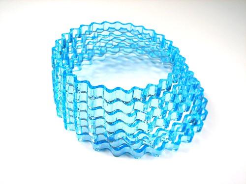 Acrylic Nesting Bracelets