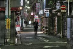 Tokyo 1108 (tokyoform) Tags: street city people urban signs sign japan businessman night dark 350d japanese tokyo noche calle asia neon nacht kanji tquio noite   japo rue nuit japon setagaya malam salaryman tokio    japn        japonya   nhtbn m strase jongkind           chrisjongkind  tokyoform