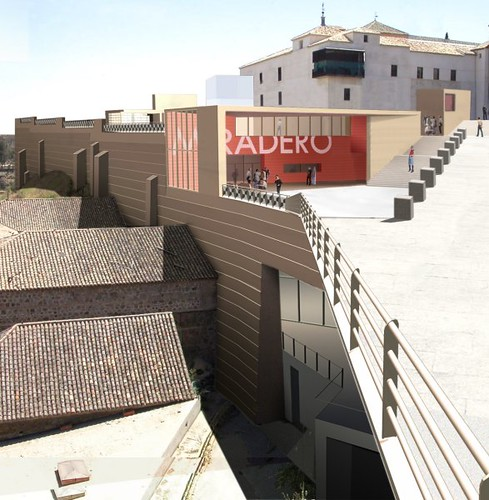 Futuro aspecto del Paseo del Miradero (Toledo).