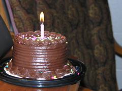 Chocolatey Decadence (fromky) Tags: birthday cake dessert candle chocolate abigfave explorewinnersoftheworld ansh1008 scavenger7 dscn5629