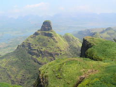The view from the nedhe (Enygmatic-Halycon) Tags: ratangad bhandardara