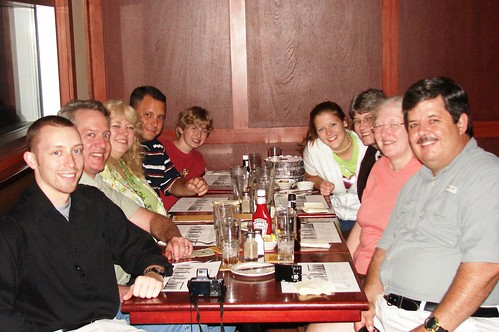 Family at Sean's Restaurant