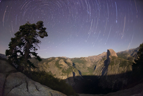 Yosemite by Moon and Star