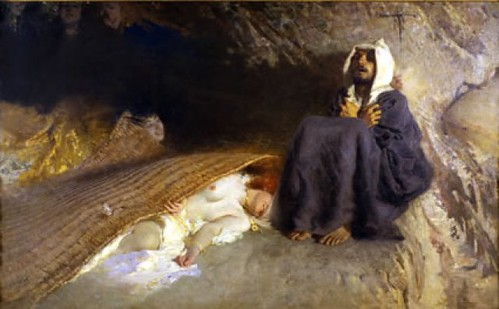 Domenico Morelli - Le tentazioni di Sant'Antonio by you.