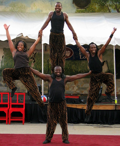 100 Things to see at the fair #43: African Acrobats