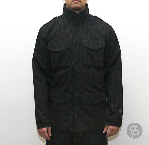 Twelve Bar Saville M65 Jacket - Black
