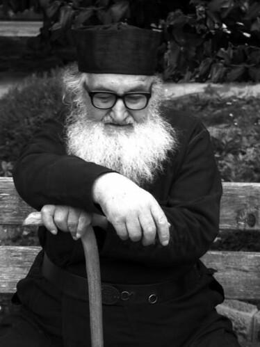 Fr. Ioakeim at Iveron Monastery