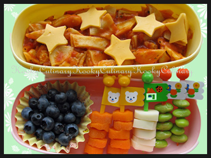 Bento #38 - Colorful Flag Day