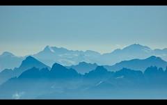 Bavarian Alps Shades (asawaa) Tags: blue mountains alps nature topf25 topc25 topv111 germany landscape bavaria topf50 topv333 europe horizon shades peaks europeanunion garmischpartenkirchen zugspitze snowcappedmountains bavarianalps explored interestingness020 alemdagqualityonlyclub