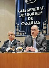 Caja Canarias Programa Solidario Alvaro Arvelo y David Cova