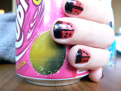 Ladybug Nails (catt231) Tags: red black quality painted nail bored polish explore ladybird ladybug dots nailpolish pixels nailvarnish varnish 255 explored qualitypixels