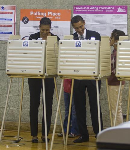 20081104 Chicago IL Voting0223