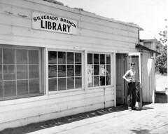 Silverado Branch, Orange County Public Library, July 1957 (Orange County Archives) Tags: california history library historical southerncalifornia orangecounty silverado liblibs orangecountylibrary silveradocanyon orangecountypubliclibrary orangecountyarchives orangecountyhistory orangecountyfreelibrary