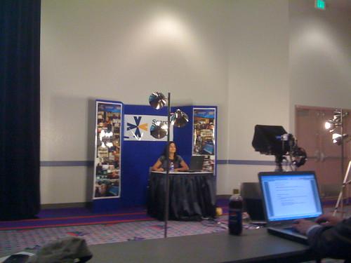 Vanessa Zamora at PubCon in Session