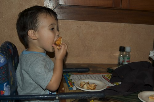 Benji loved Tata's pizza