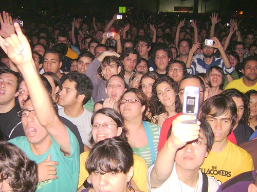 Público no show das Breeders - 08/11/08