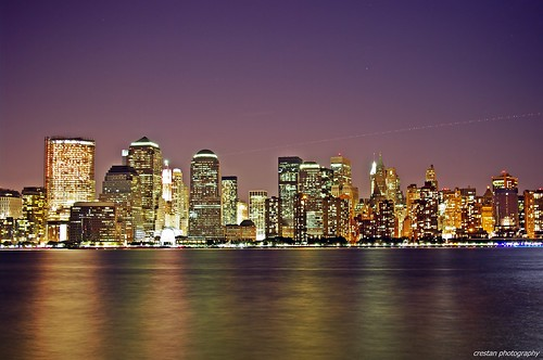 new york skyline pictures. New York Skyline @ NIght