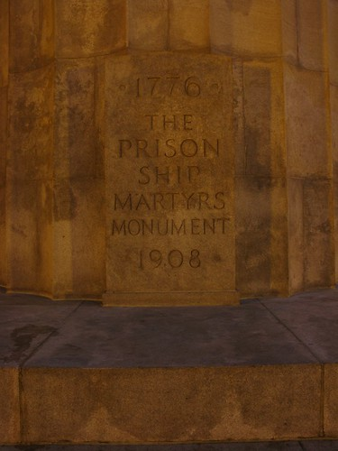 The Prison Ship Martyrs Monument Lighted 11/16