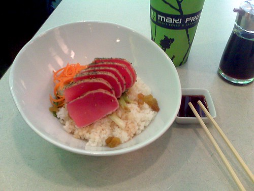 Seared Ahi Tuna Rice Bowl