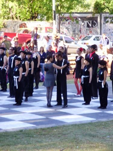 Parque Lezama - Ajedrez de Tango Viviente