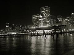 Ferry building at night. (emanistan) Tags: sanfrancisco embarcadero ferrybuilding portofsanfrancisco