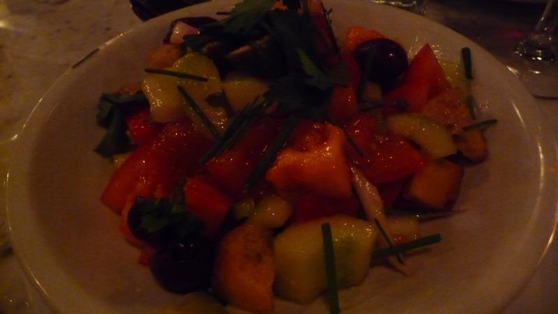 Panzanella Salad at Motorino