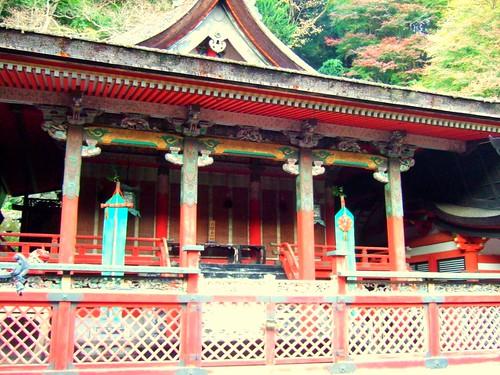 鎌足公を祀る本殿