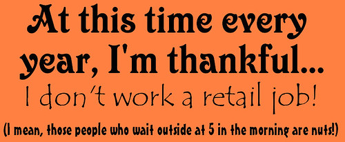 thankful not retail