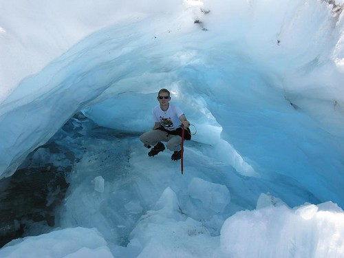 me in an ice cave