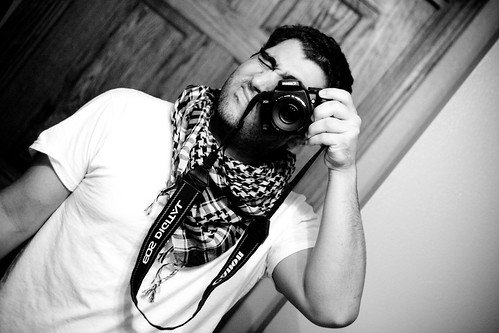 Arab Scarf Self Portait