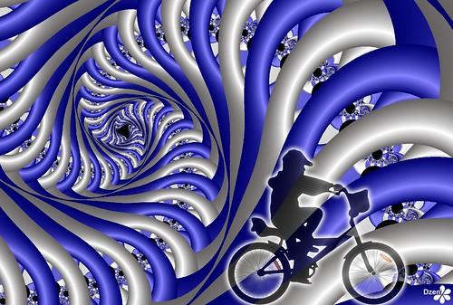 Blue Bike Spiral