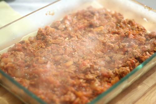Lasagnes - couche 4