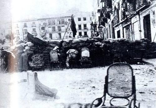 Barricada en Zocodover