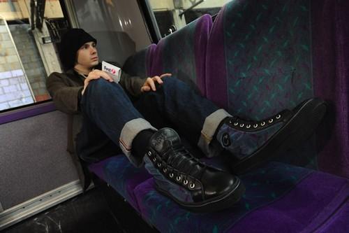 Feet on Seats and seats on feet