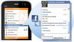 Facebook & Myspace chat with Nimbuzz Mobile