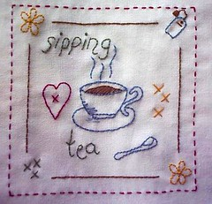 Beas Capricorn Quilts -Tea.