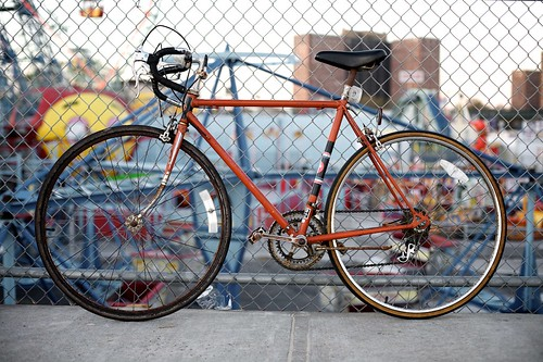 My NYC Rusty Beater Bike