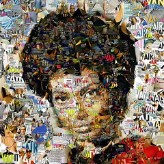 Lt. Uhura (Village9991) Tags: people trek star mosaic vanity deception photomosaic illusion lt uhura stardate village9991 graphicmaster