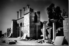 BASILICA OF ST. JOHN THE BAPTIST -  TURKEY (Austrian Alex) Tags: blackandwhite architecture turkey ancient ruins ruin thechallengefactory superherochallenges tcfug
