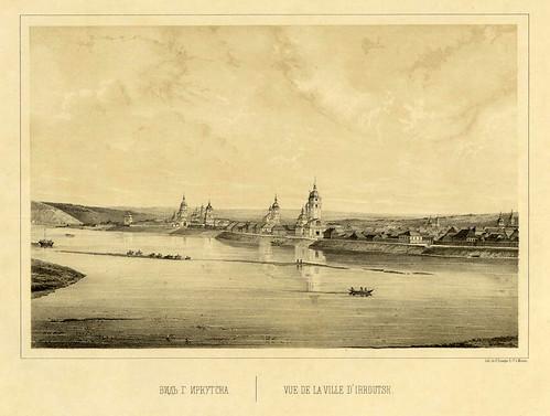 Vista de la ciudad de Irkoutsh
